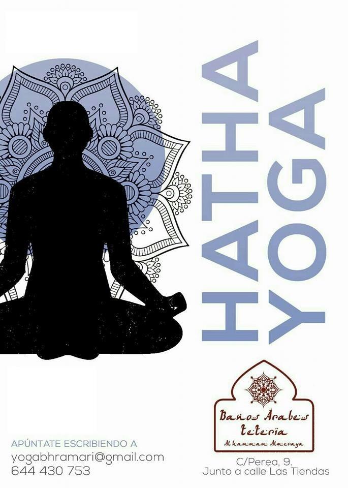Actividades. Hatha yoga. Apúntate escribiendo a yogabhramari@gmail.com