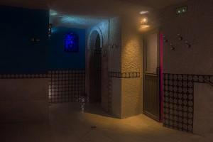 Baño turco y duchas
